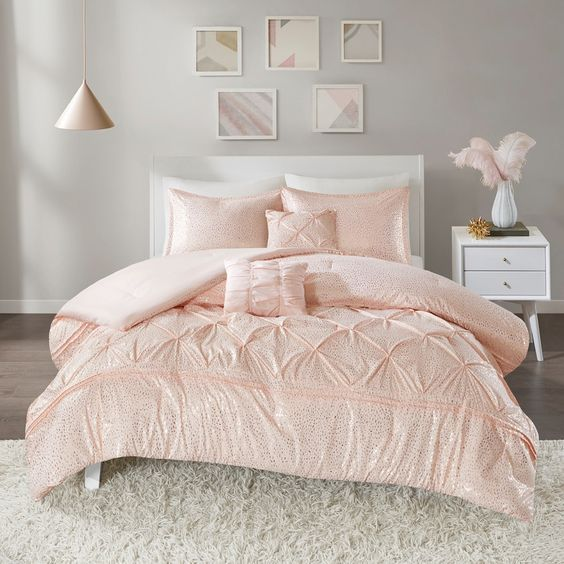 rose gold bedroom ideas 2
