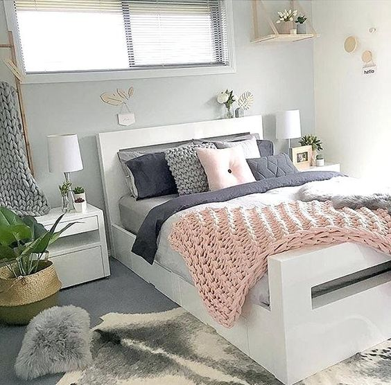 rose gold bedroom ideas 20