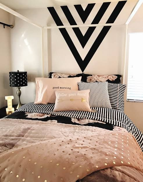 rose gold bedroom ideas 21