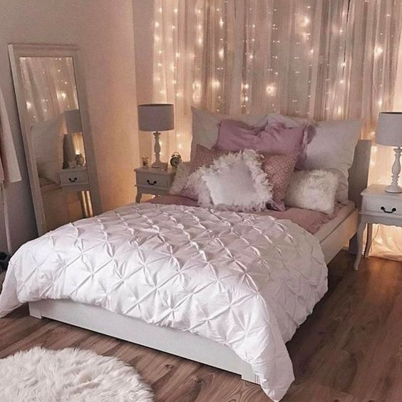 rose gold bedroom ideas 23