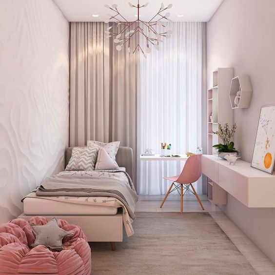 rose gold bedroom ideas 24