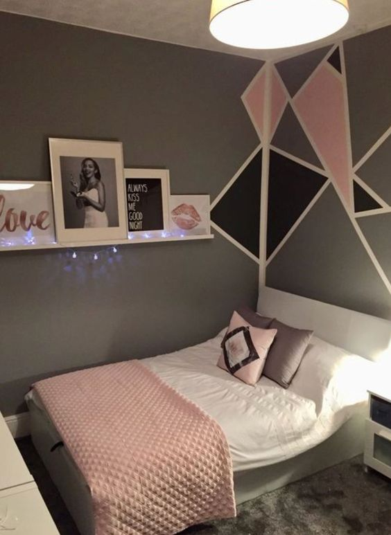 rose gold bedroom ideas 25