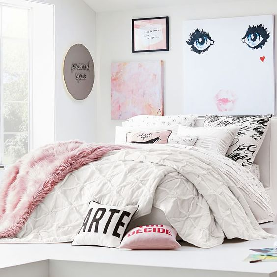 rose gold bedroom ideas 28