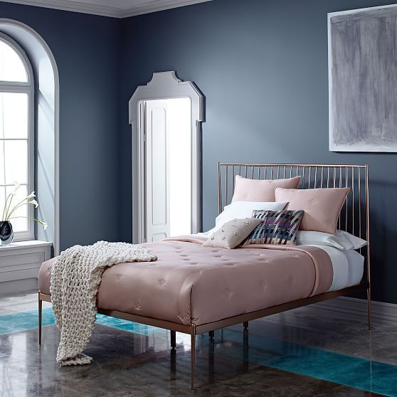 rose gold bedroom ideas 7