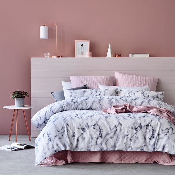 rose gold bedroom ideas 8