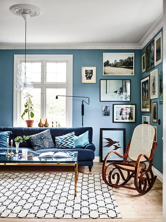 vintage living room 10