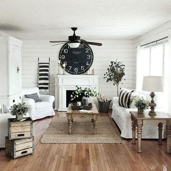 vintage living room 11