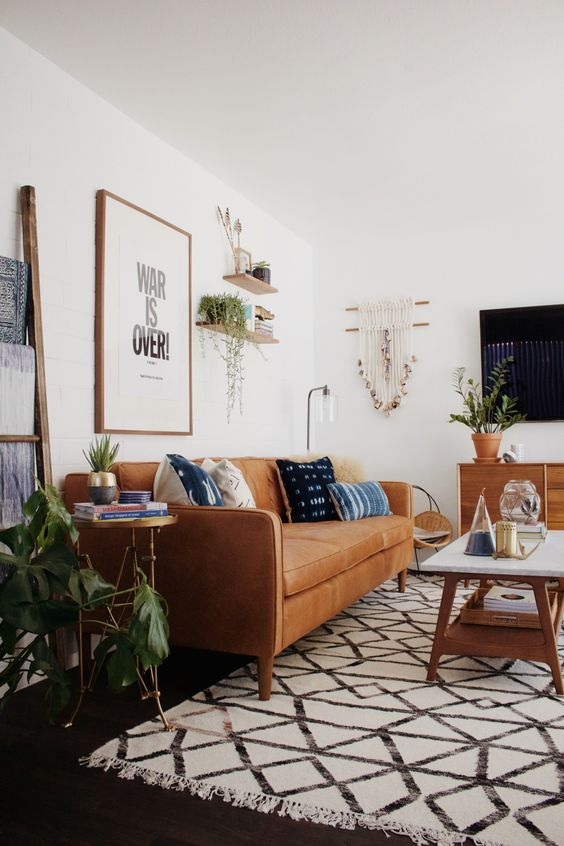 vintage living room 13