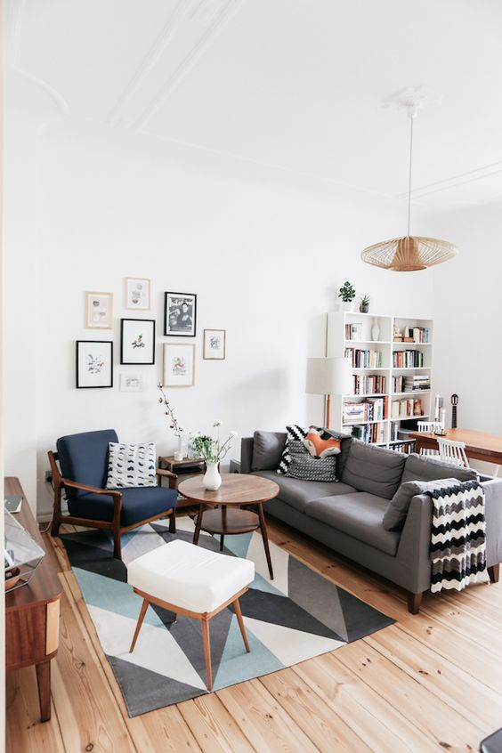 vintage living room 17
