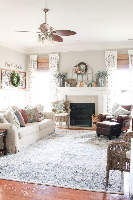 vintage living room 18