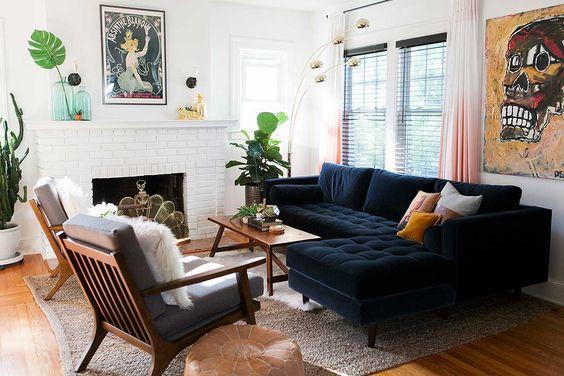 vintage living room 19