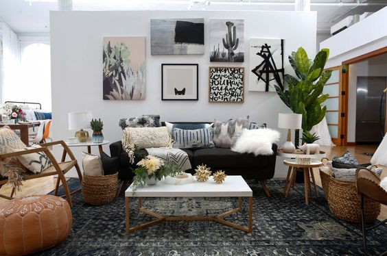 vintage living room 21