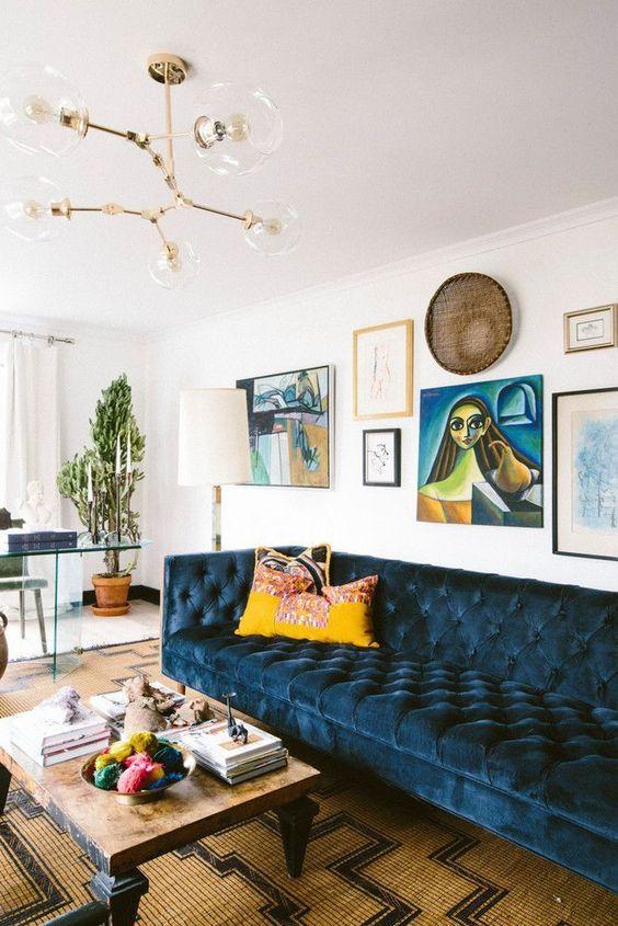 vintage living room 7