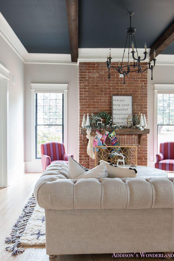 vintage living room 8