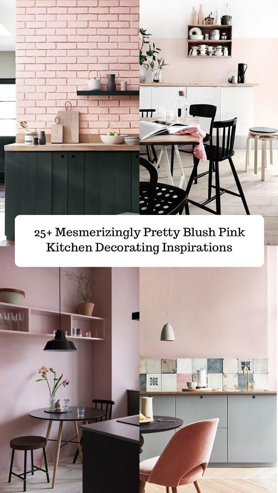 Blush Pink Kitchen-min