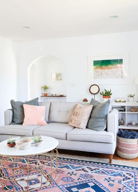 Bohemian Living Room 1