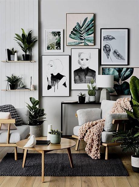 Bohemian Living Room 17