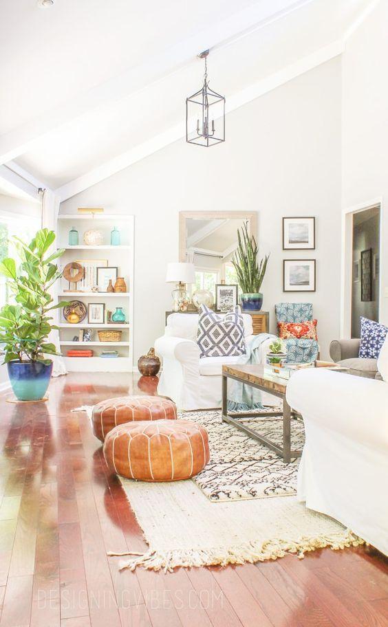 Bohemian Living Room 5