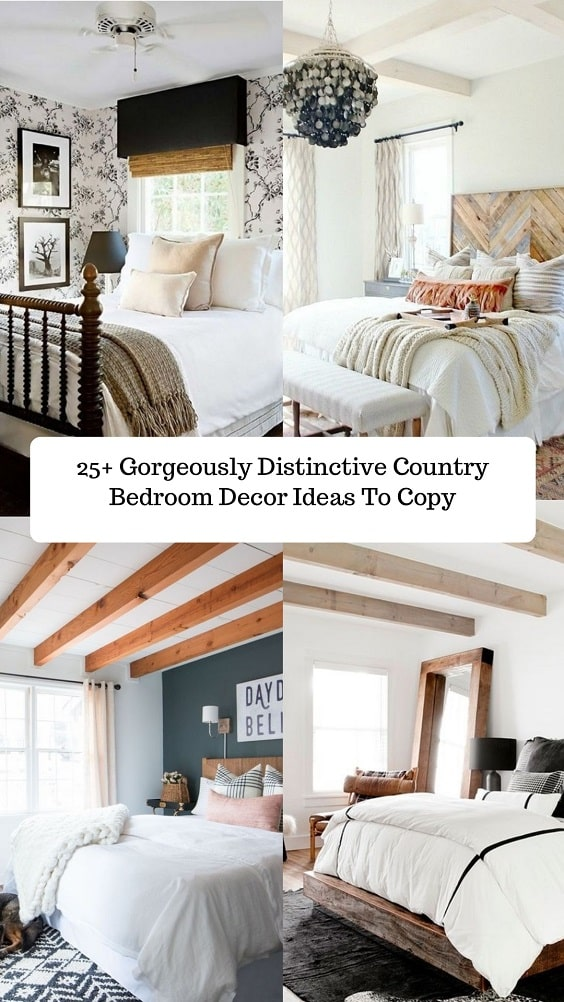 Country Bedroom Decor-min