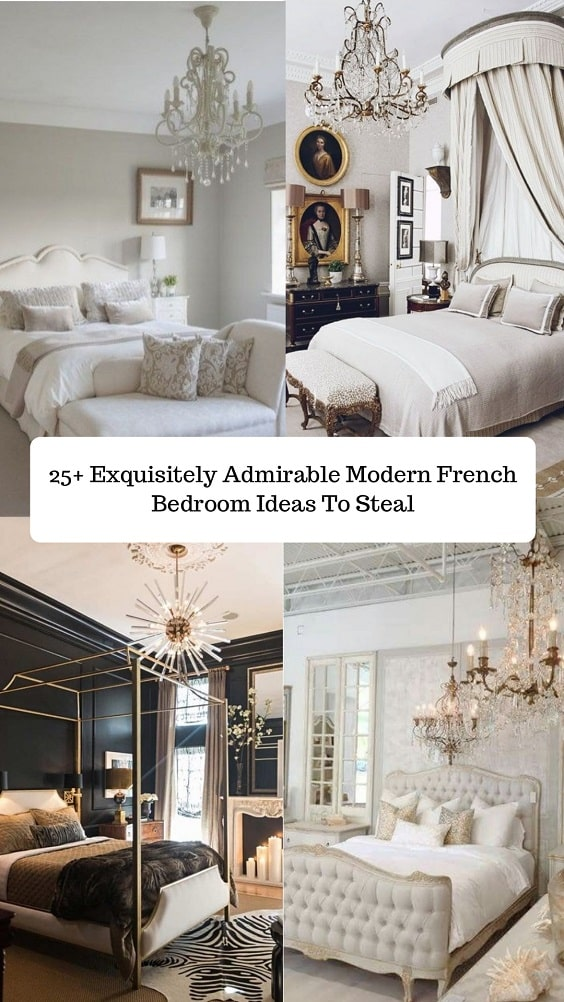 Modern French Bedroom-min
