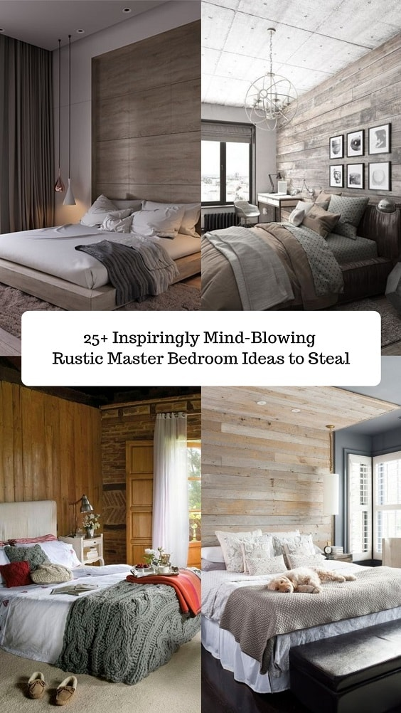 Rustic Master Bedroom-min