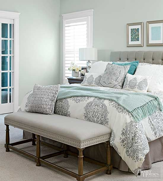 25+ Most Stunning Soft Blue Master Bedroom Ideas With