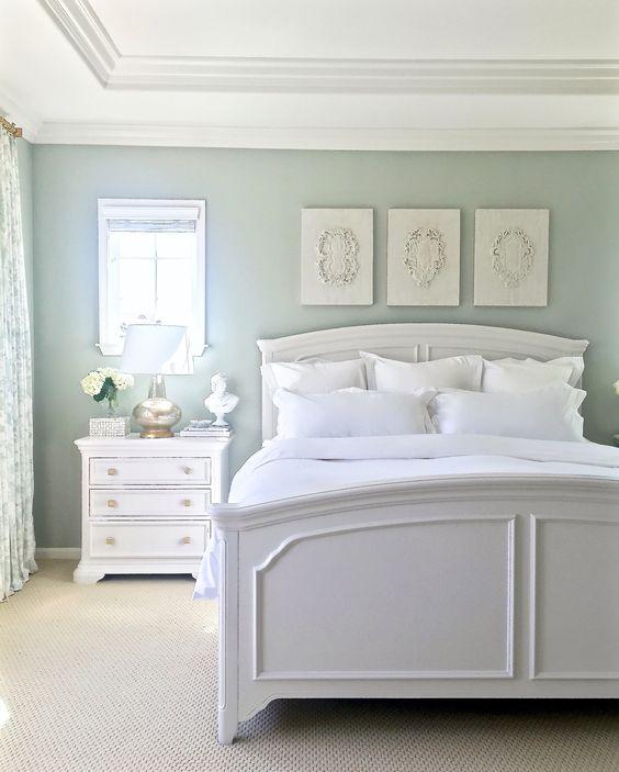 Soft Blue Master Bedroom Ideas 23
