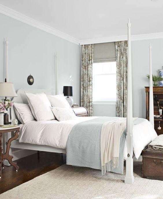 Soft Blue Master Bedroom Ideas 26