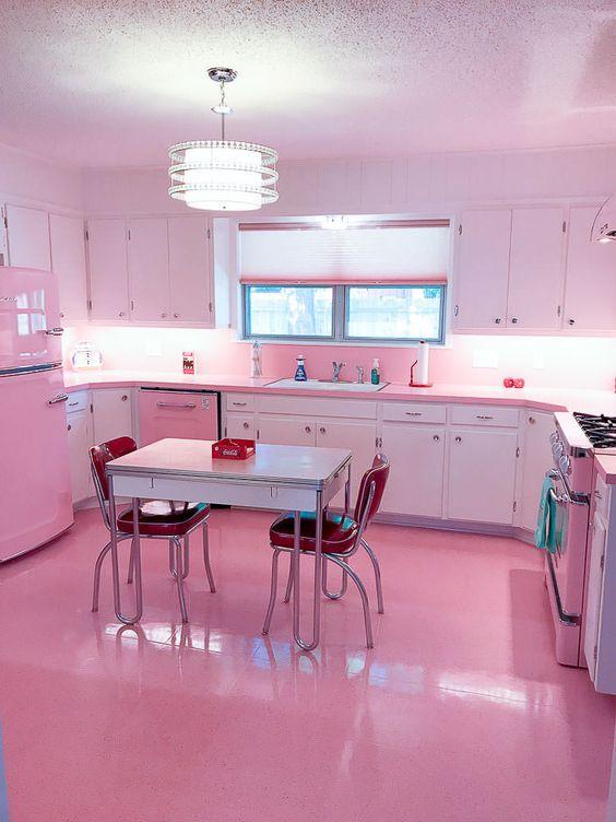 blush pink kitchen 10