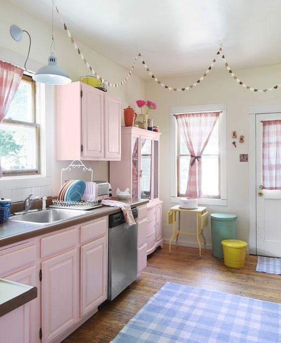 blush pink kitchen 12