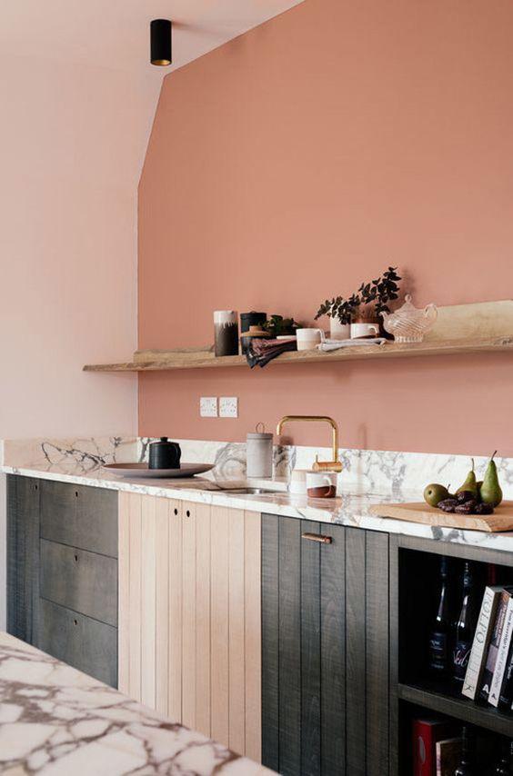 blush pink kitchen 18