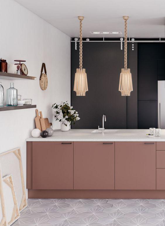 blush pink kitchen 20
