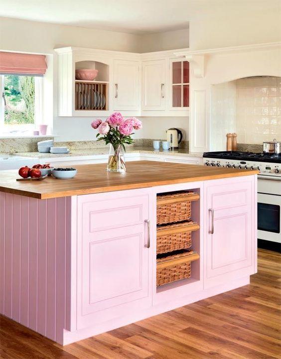 blush pink kitchen 22