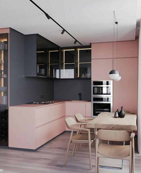 blush pink kitchen 3