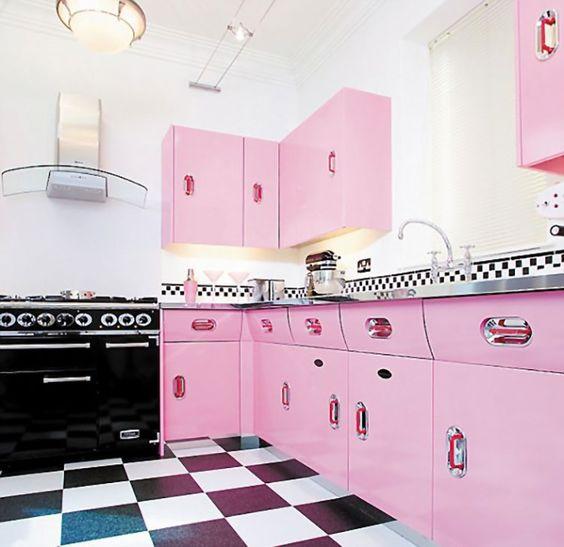 blush pink kitchen 9