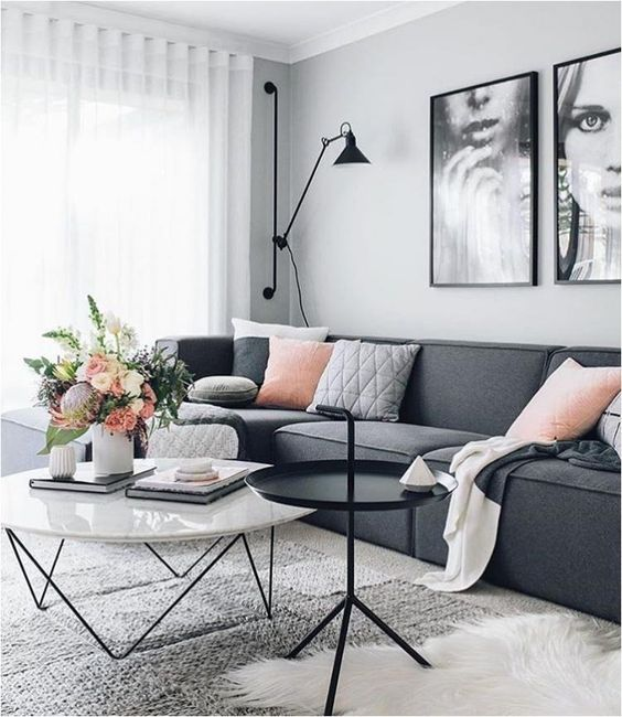 chic living room 26