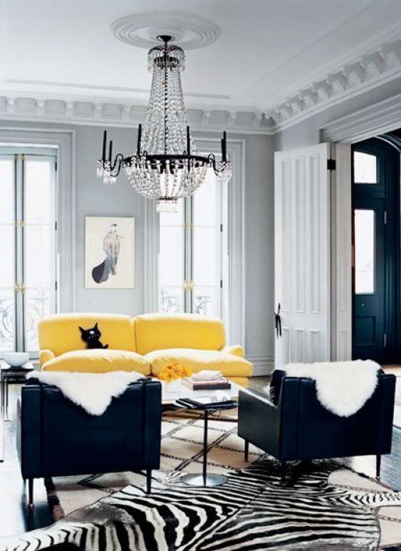 chic living room 9