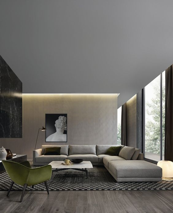 contemporary living room 13