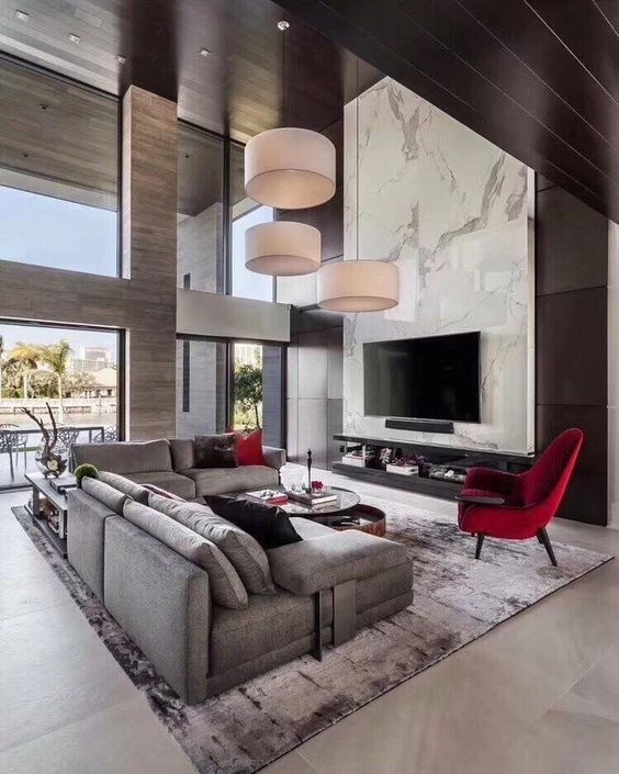 contemporary living room 16