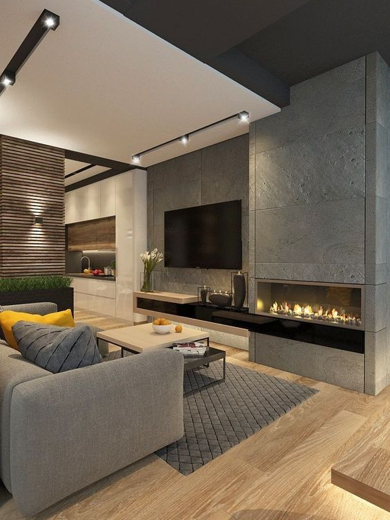 contemporary living room 8