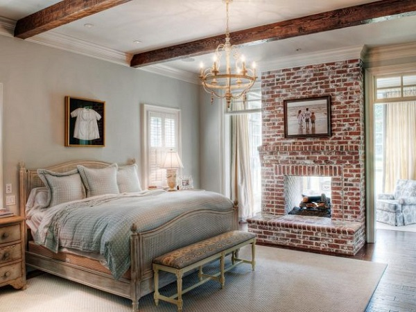 country bedroom decor feature