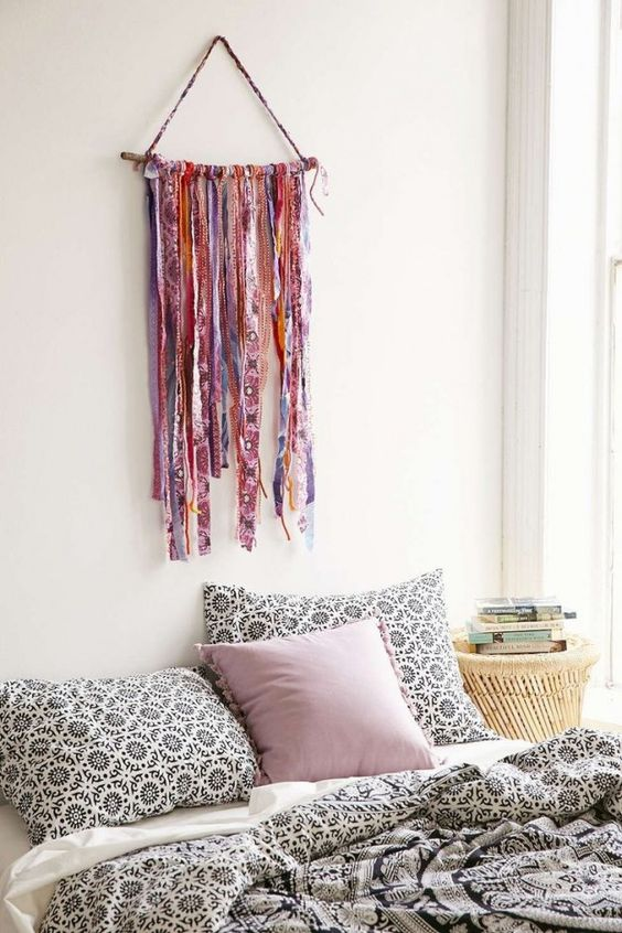 diy bohemian bedroom 2