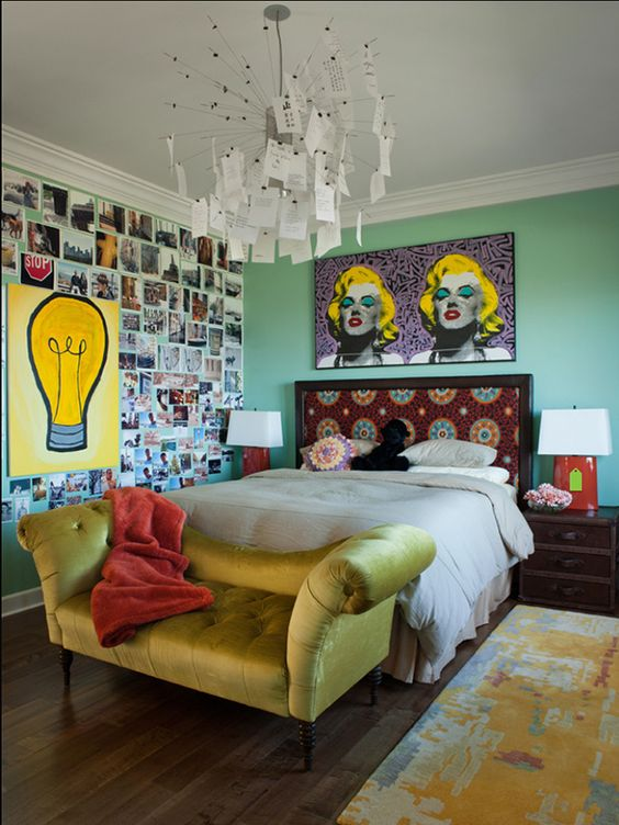 eclectic bedroom 11