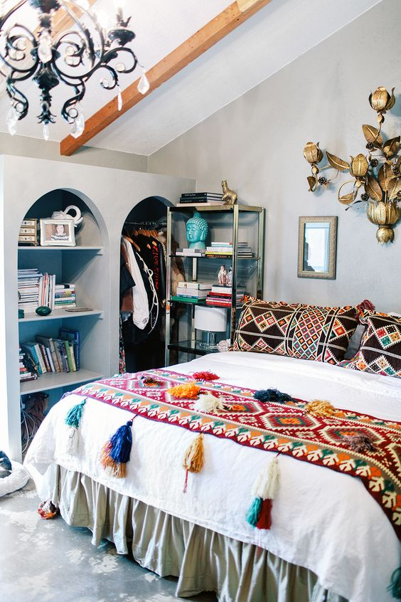eclectic bedroom 2