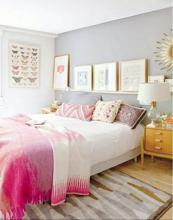 eclectic bedroom 22