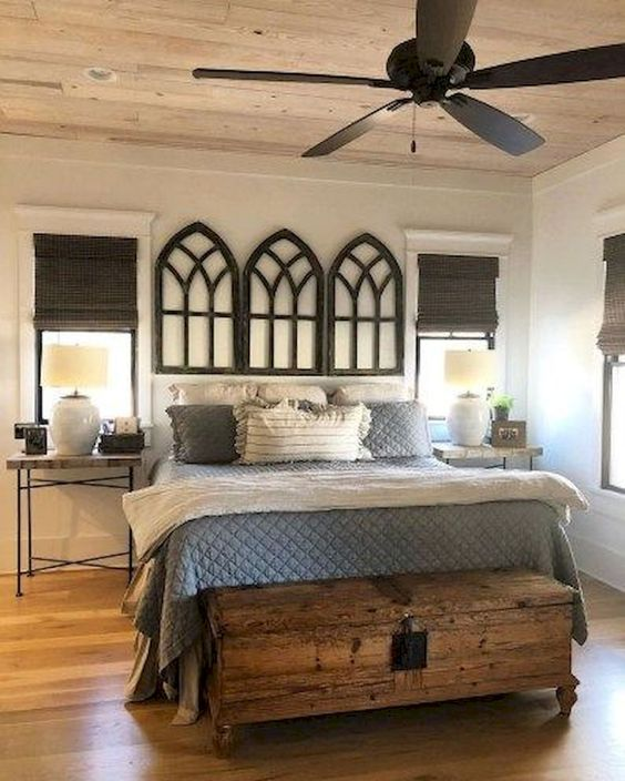 Unique Bedroom Ideas Preserving The Cozy Vibe In Style: 25+ Most Admirable Farmstyle Bedroom Ideas For Unique Decor