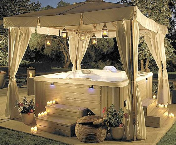 hot tub surround ideas 10