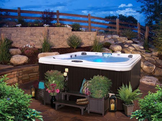 hot tub surround ideas 15