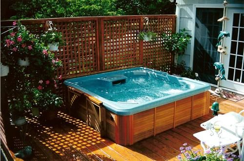hot tub surround ideas 22