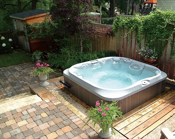 hot tub surround ideas 26